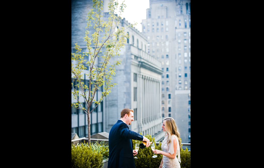 Rooftop Engagement New York