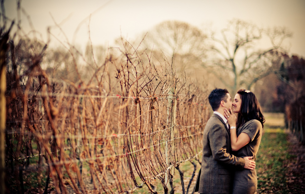 Long Island Vineyard Engagement