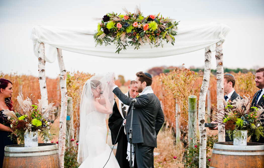 Long Island Fall Vineyard Wedding
