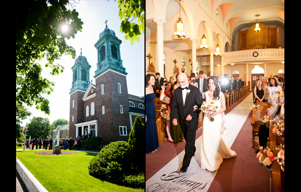 Saint Isidore East End Wedding